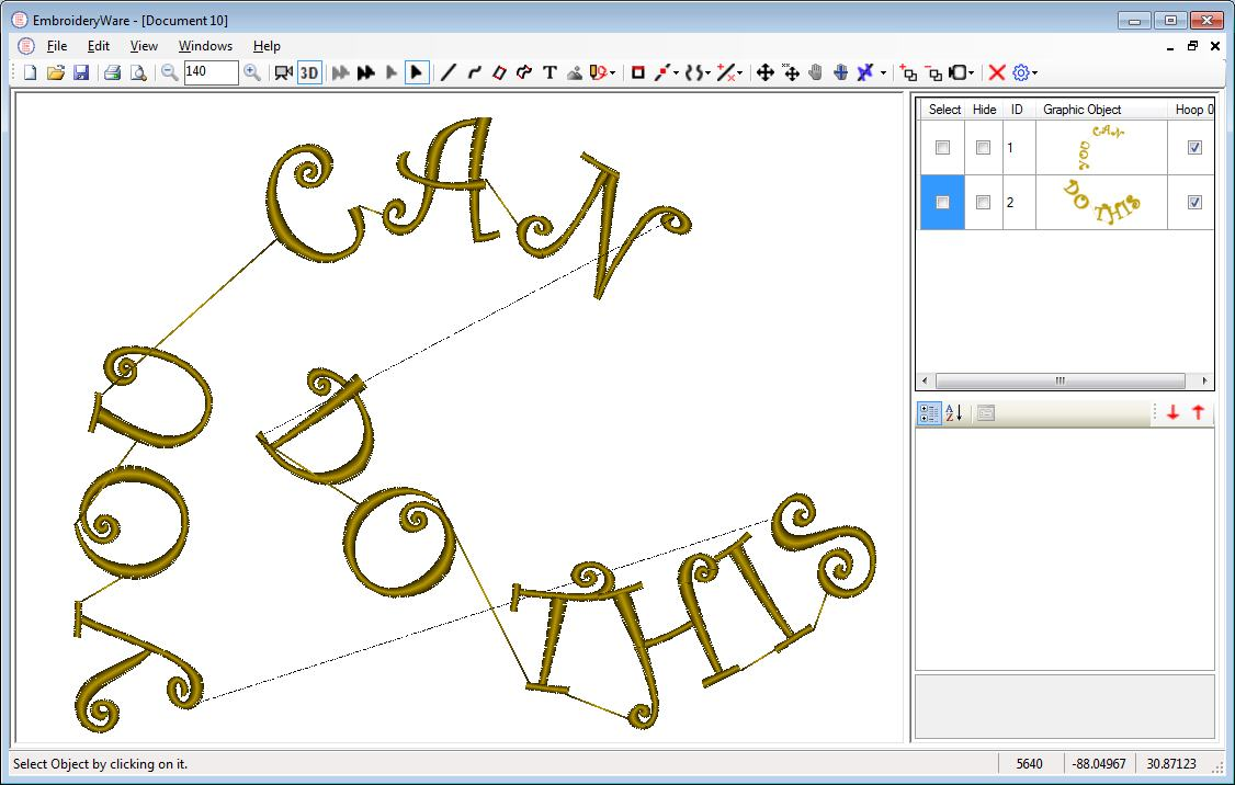 Embroideryware Embroidery Digitizing Software Only 119