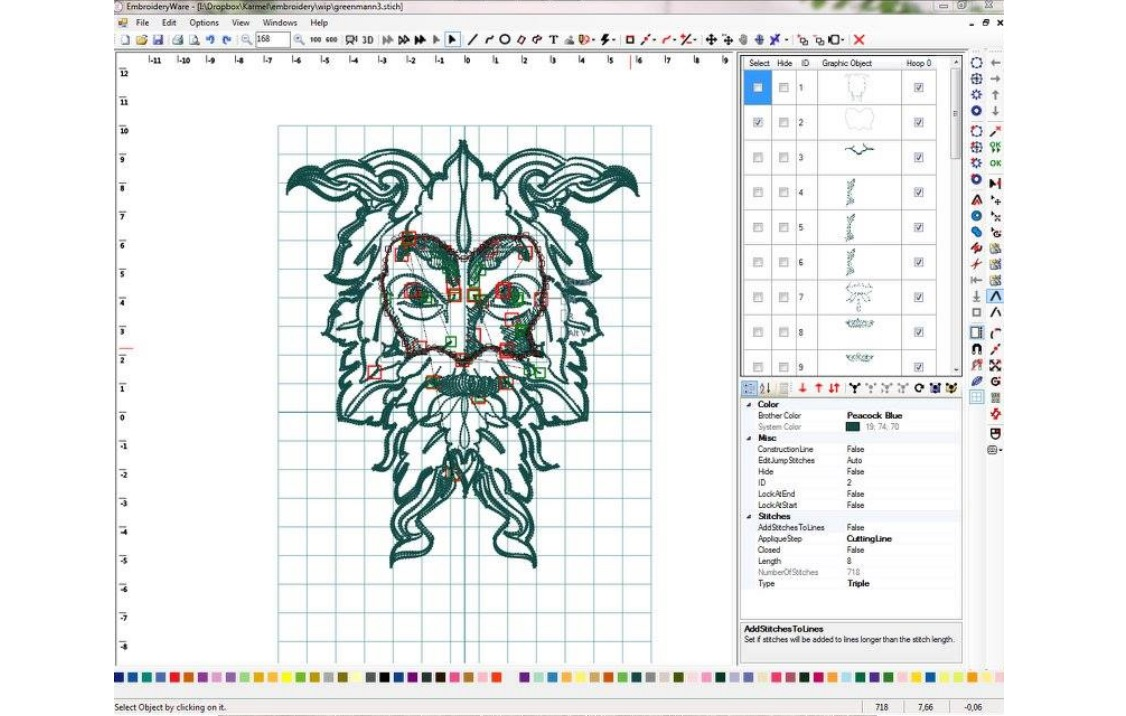 Embroidery Digitizing Manual