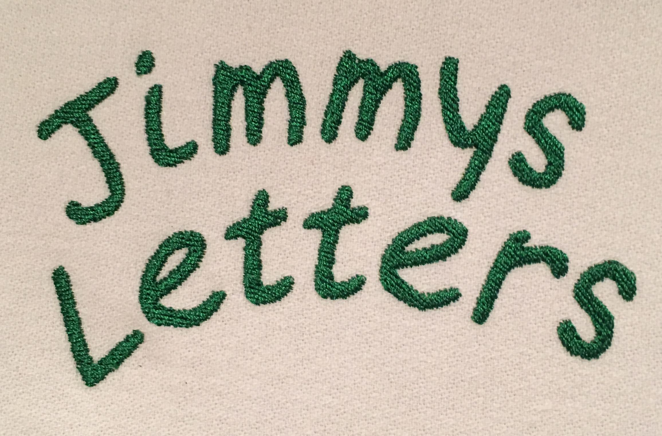 Jimmys letters logo