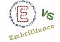 EmbroideryWare vs Embrillance
