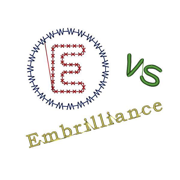 EmbrioderyWare vs Embrilliance
